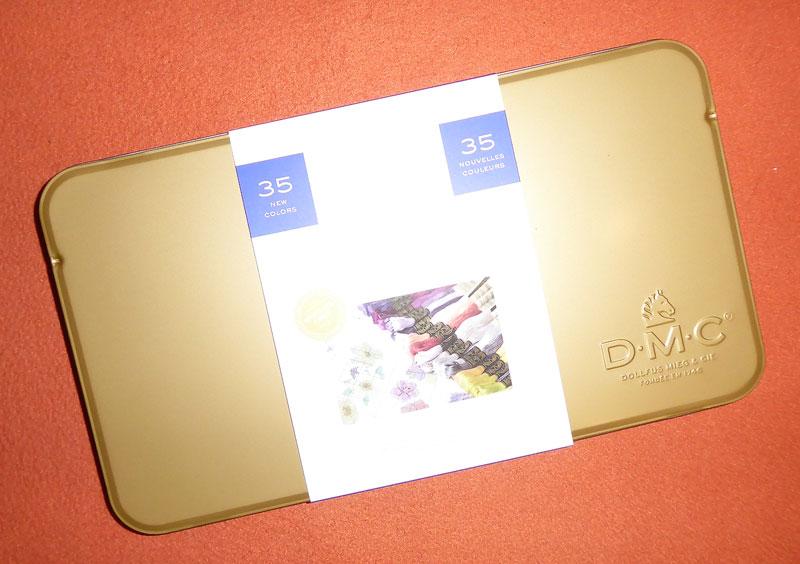 Goldene Box von DMC